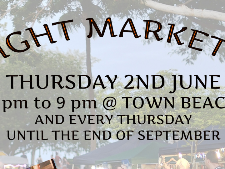 Night Markets starting in June 2016