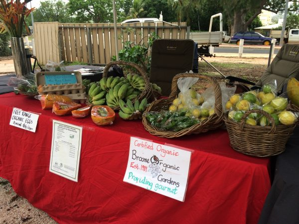 Broome Organic Fruit and Vegetable